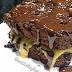 Receita de bolinho de chocolate prático e saudável recheado de micro-ondas