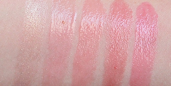 paul&joe new lipstick sheer transparent swatch