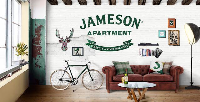 """JAMESON Apartment [Teatro en casa] apoya la filosofía """"SINE METU""""."""