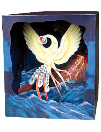 立版古で名画の世界を立体的に再現!江戸時代からある3D作品【i】 火の鳥