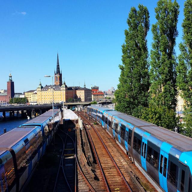 Stockholm's subway, Statshuset, Riddarholmen  |  Conflicting pregnancy rules: U.S. vs. Italy vs. Sweden on afeathery*nest  |  http://afeatherynest.com