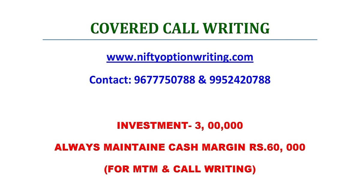 covered call writing