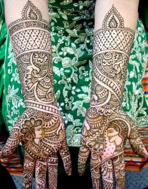 Dulhan Mehndi Designs Images