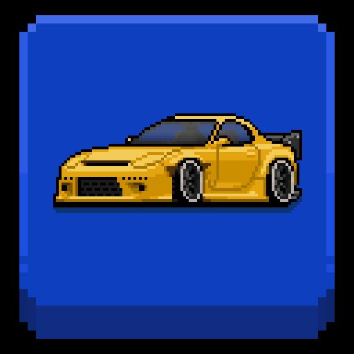 تحميل لعبه Pixel Car Racer v1.1.18 مهكره وجاهزه للاندرويد