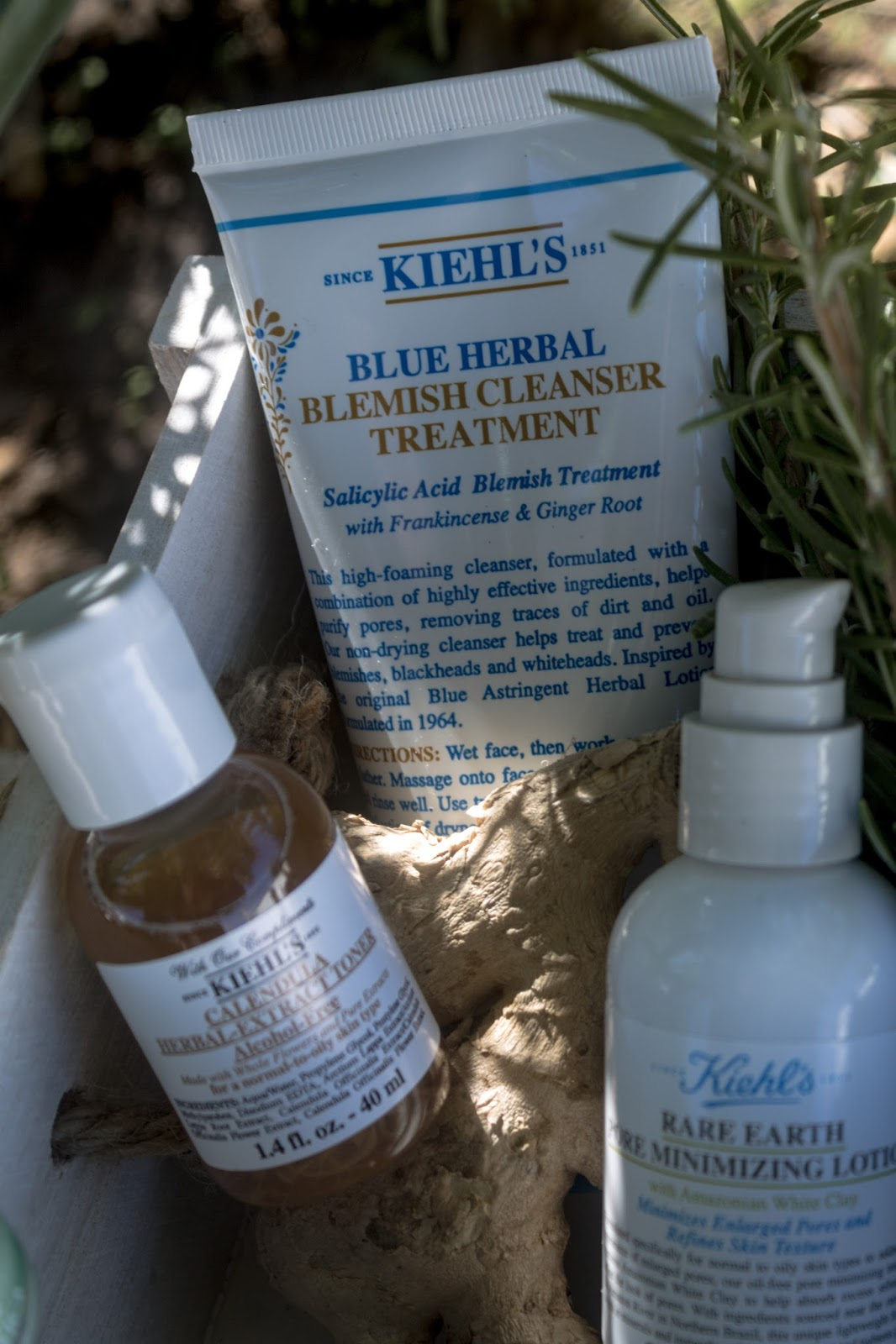 KIEHLS BLUE HERBAL review