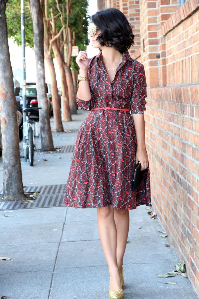 Vestido Camisero · Shirt dress · Robe Chamise : el legado de YSL ...