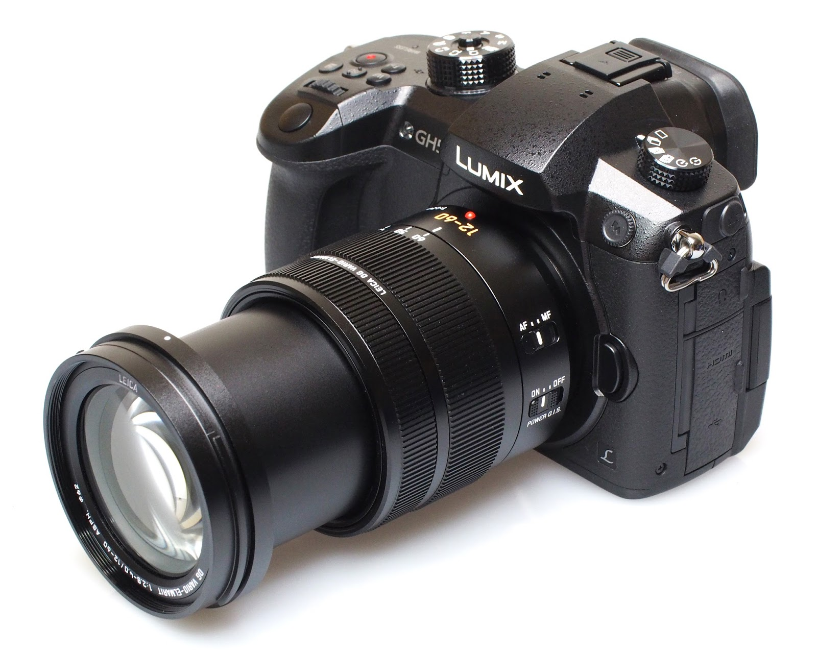 Panasonic Lumix GH5 с комплектным объективом Leica 12-60mm f/2.8-4.0