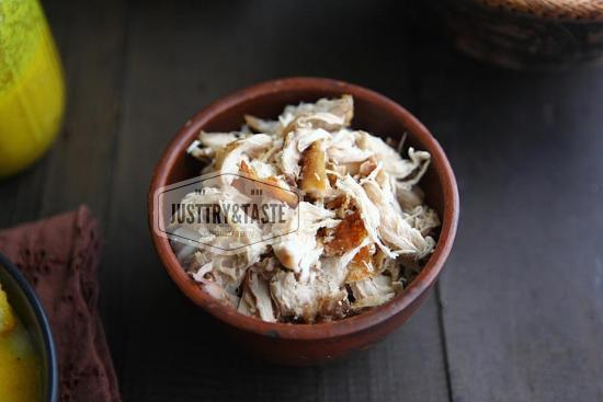Resep Bubur Ayam Sambal Kacang JTT