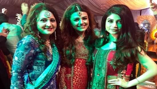 Actress Asma Abbas Son Wedding Pictures