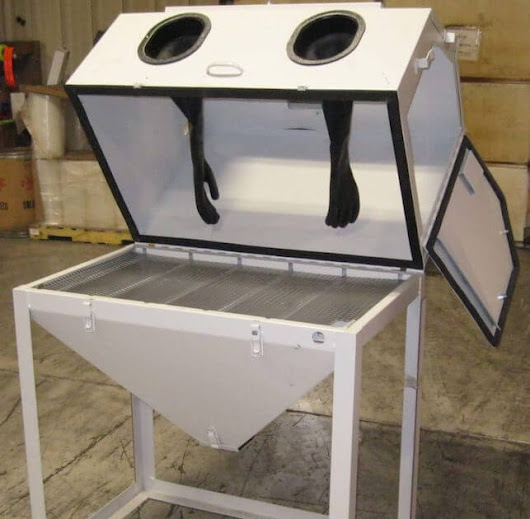 DIY Sandblast Cabinets - Deals on like new & rebates!