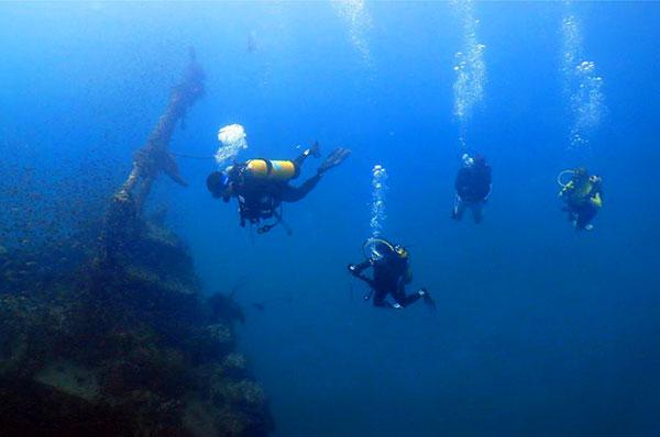 Kuching Wreck Diving Sarawak