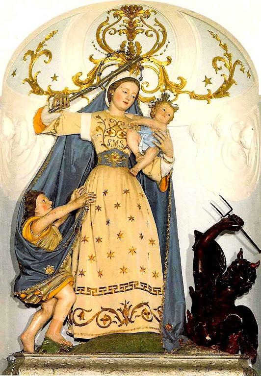 Madonna del Soccorso  (Nossa Senhora do Socorro), Ascoli Satriano, Itália