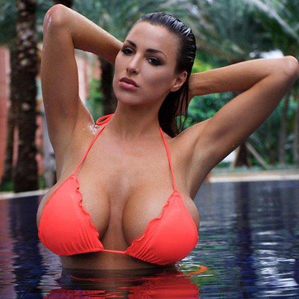 Hot girls Jordan Carver sexy super boobs teacher 4