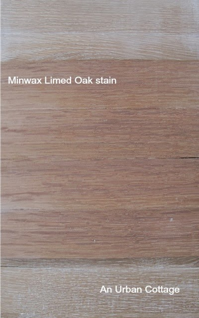 Minwax Limed Oak Sitting On Some Of Samples With