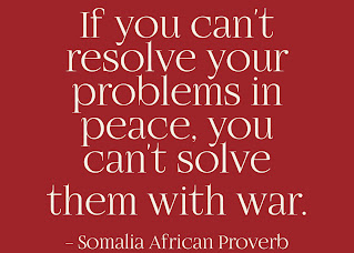 War may sometimes be a necessary evil. But no matter how necessary, it is always an evil, never a good. We will not learn how to live together in peace by killing each other's children.