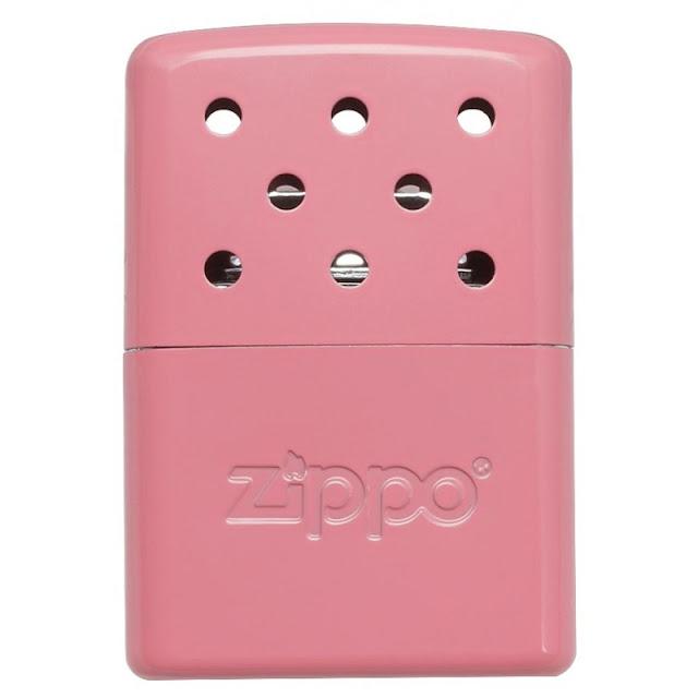 Zippo Handwarmer in pink.