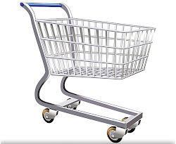cart shopping weebly vector site clip fill
