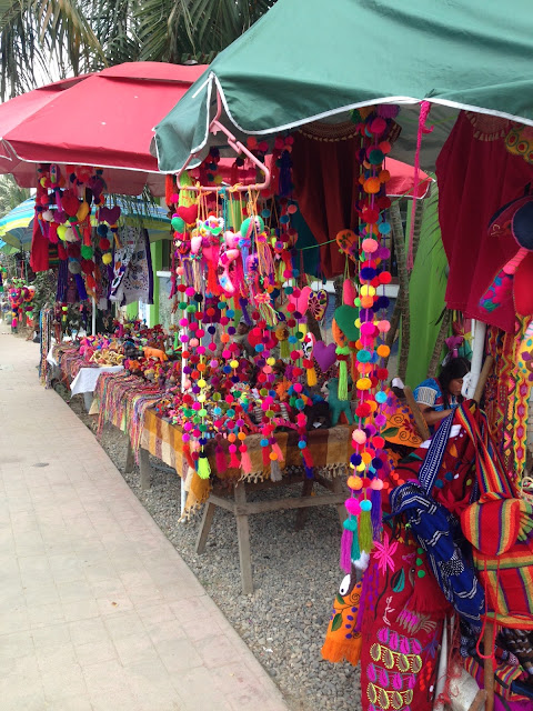 market vendors in Sayulita Mexico