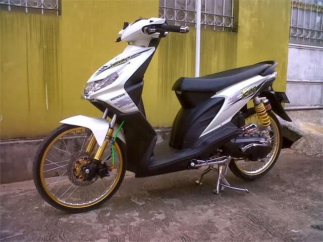Modifikasi Honda Beat Karburator Motorwallpapers Org