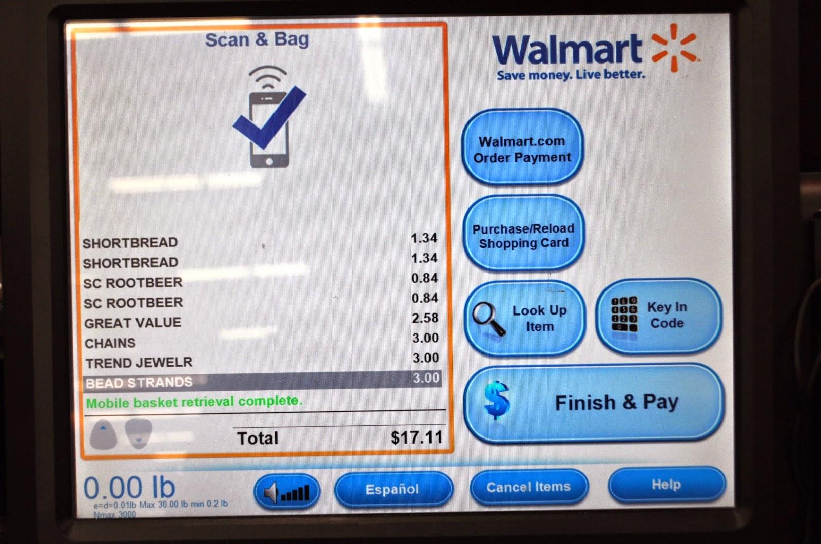 Walmart App Shopping List