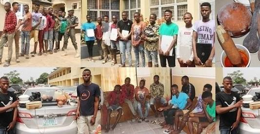 22 Arrested Yahoo Boys Have Been Jailed