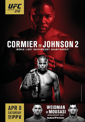 predictions for UFC 210 pay-per-view Cormier vs Johnson
