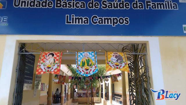 FESTA JUNINA NA UNIDADE BÁSICA DE SAÚDE DE LIMA CAMPOS