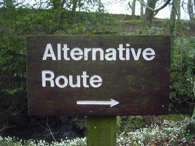 Always have an alternative