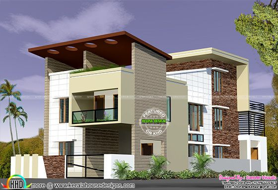 5 BHK , 2450 sq-ft home design