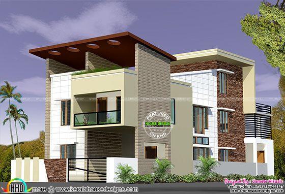 5 BHK , 2450 sq-ft home design