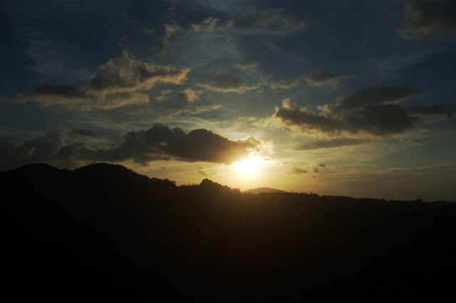 sunset at Genting Malaysia