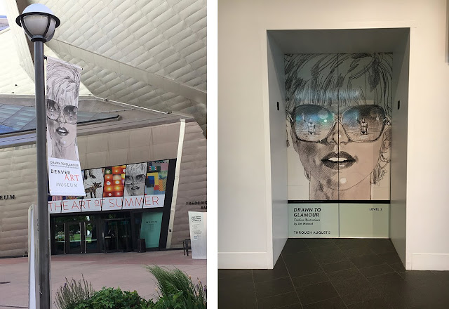 Jim Howard Fashion Banners at the Denver Art Museum