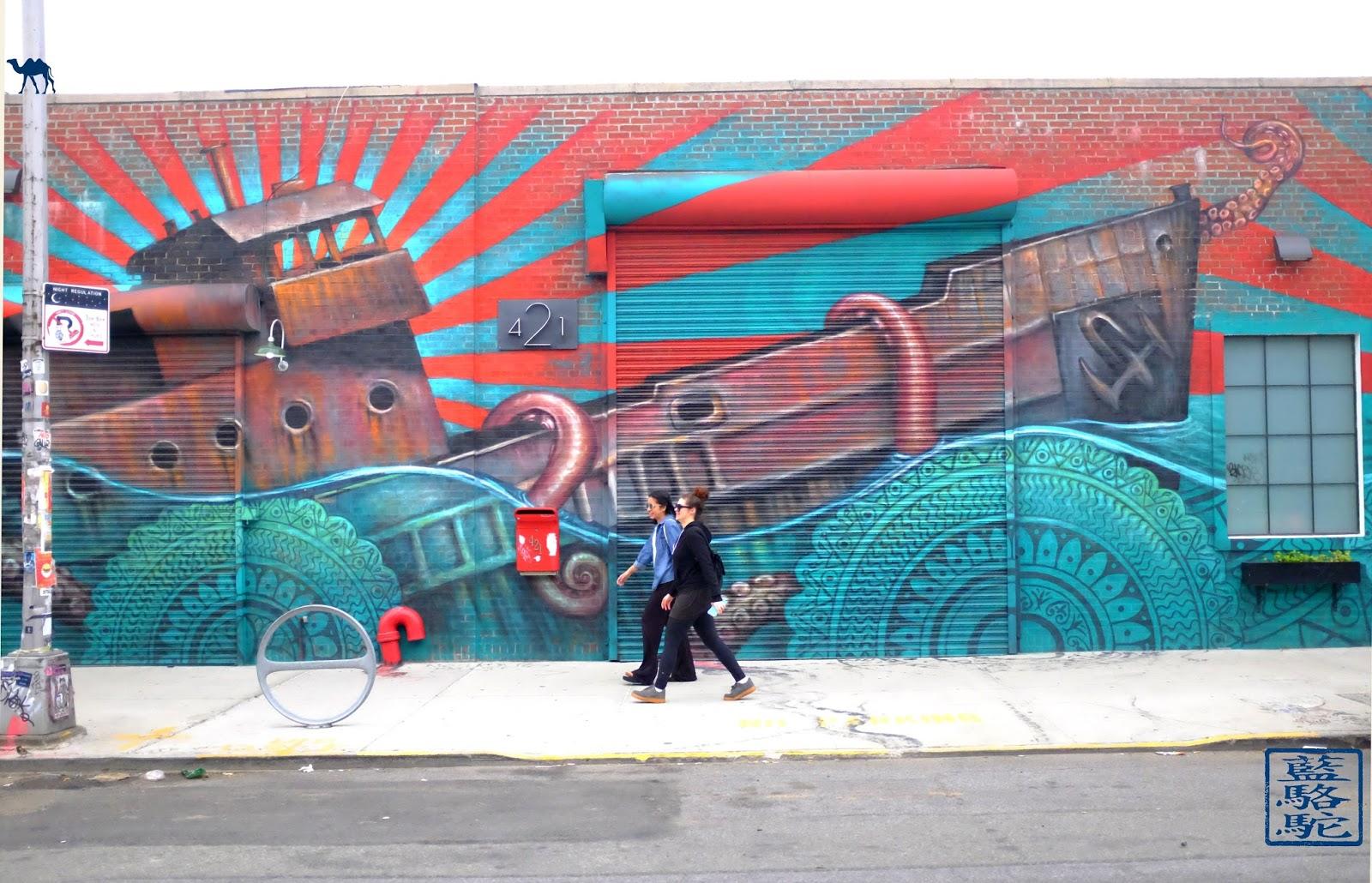 Le Chameau Bleu - Tourisme New York - Balade à Bushwick Brooklyn Street Art