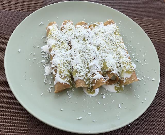 Receta de: Tacos dorados de Papa