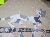 """Katze: VON LILIENFELD Regenschirm Automatik Rosina Wachtmeister: """"Brunello"""""""
