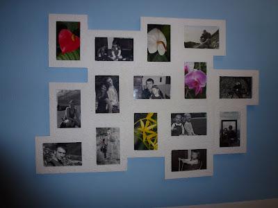 werklstube bilderrahmen collage. Black Bedroom Furniture Sets. Home Design Ideas
