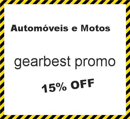 gearbest promo15% OFF! Automóveis &Motos