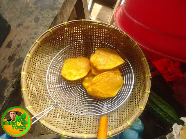 Cara membuat goreng ubi tepung