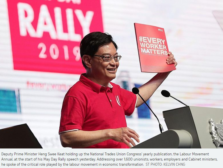If Only Singaporeans Stopped to Think: May Day Rally 2019: DPM Heng
