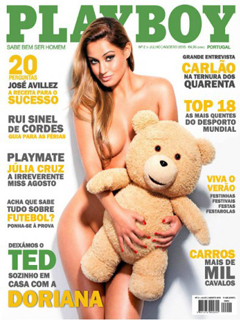Revista Playboy Portugal-Agosto 2015 PDF Digital