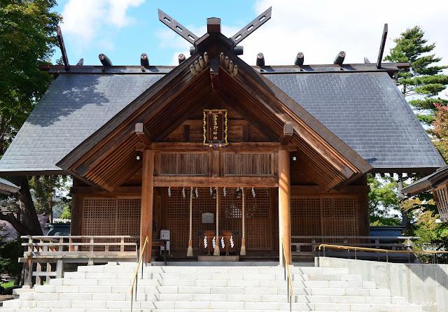 Day 9.3 富良野小學、富良野神社、富良野駅