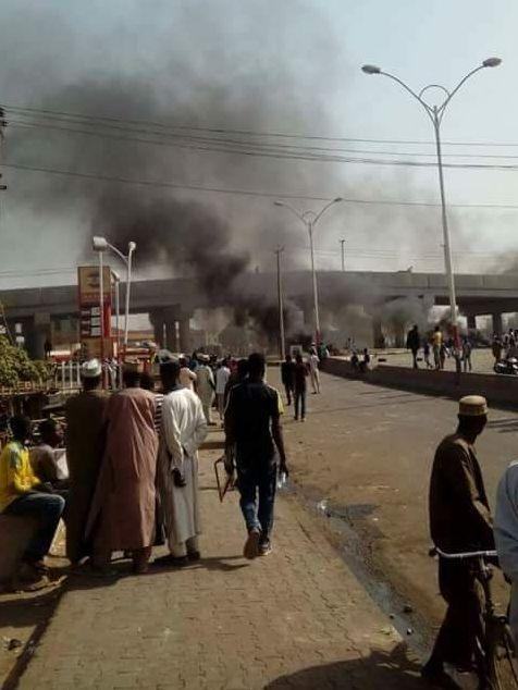 Photos From Scene Of Sporadic Shootings In Kano