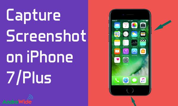 taking screenshot on iphone 7 iphone 7 plus