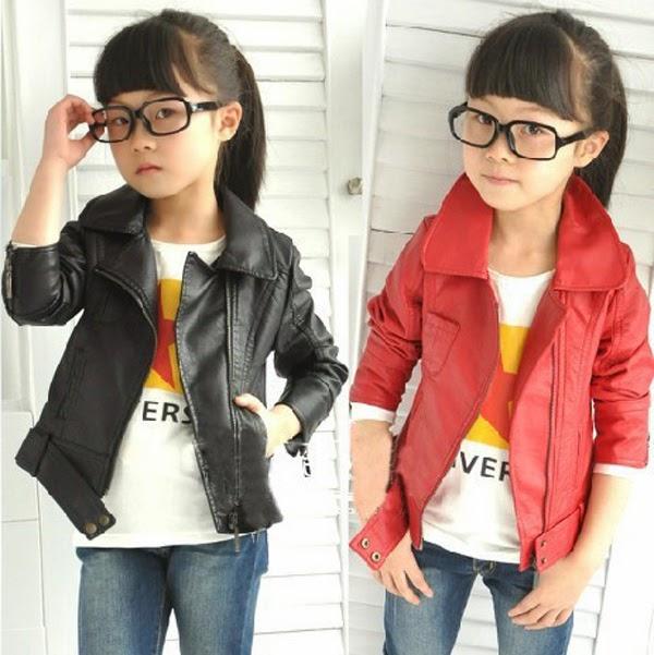 Jual Jaket Kulit Anak Perempuan