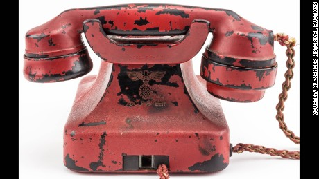 Undisclosed bidder pays $243,000 for Hitler's phone