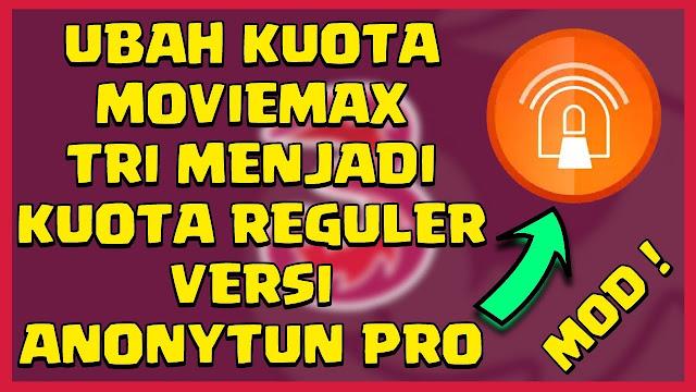 Cara Mengubah Kuota Movie Max Tri (3) Menjadi Reguler | androidepic.com