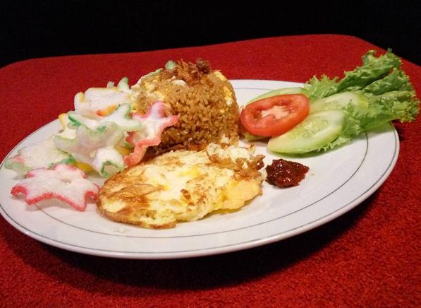 menu Nasi Goreng Baper Cafe Depok