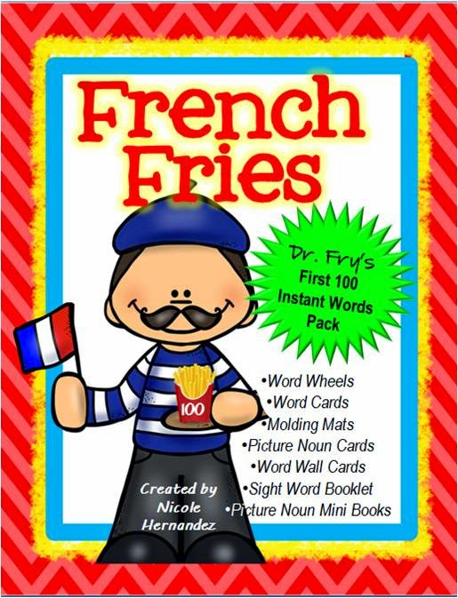 https://www.teacherspayteachers.com/Product/French-Fries-Dr-Frys-First-100-Instant-Words-Pack-211-pages-1668891