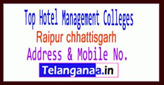 Top Hotel Management Colleges in Raipur chhattisgarh
