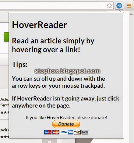 Browsing Lebih Efektif dengan HoverReader untuk Chrome